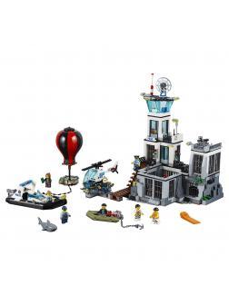 Конструктор Lp «Остров-тюрьма» 02006 (City 60130) / 815 деталей