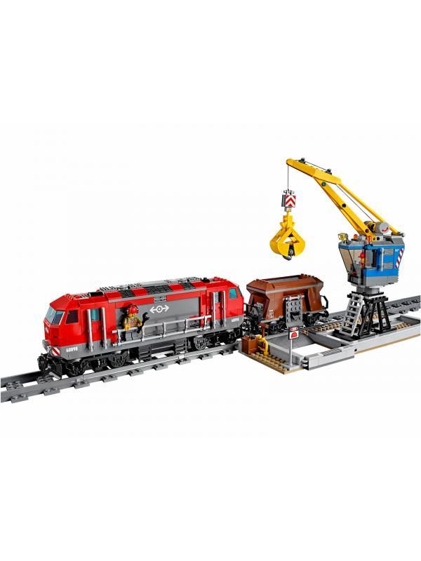 Конструктор Queen «Мощный грузовой поезд» 82009 (City 60098) / 984 детали