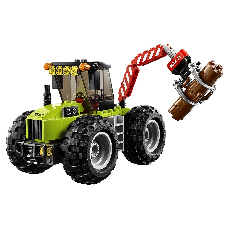 Конструктор Lp «Лесной трактор» 02092 (City 60181) / 194 детали