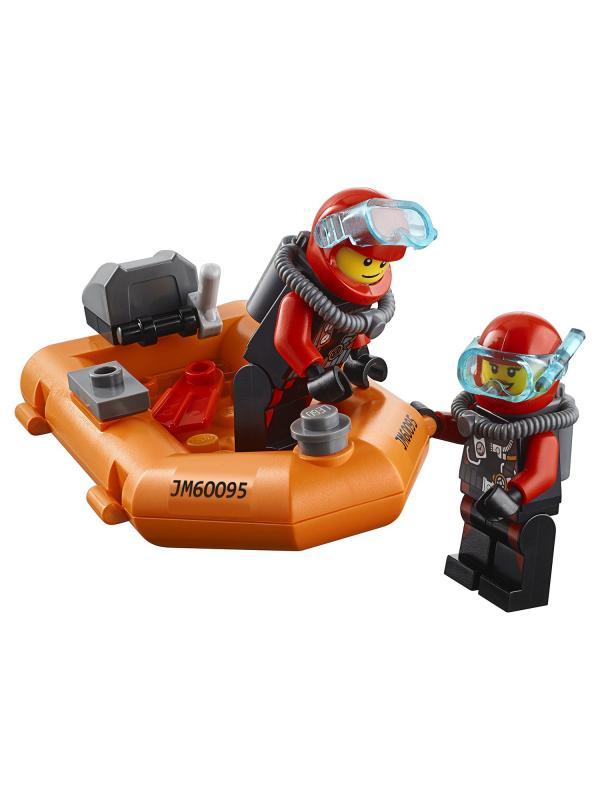 Конструктор Lp Сити «Корабль исследователей морских глубин» 02012 (City 60095) 774 детали