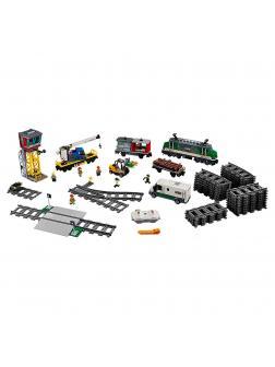 Конструктор Lp «Товарный поезд» 02118 (City Trains 60198) 1373 детали