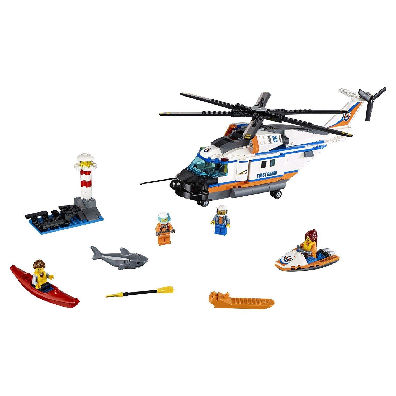 Конструктор Лп «Сверхмощный спасательный вертолёт» 02068 (Совместимый с ЛЕГО City 60166) 448 деталей