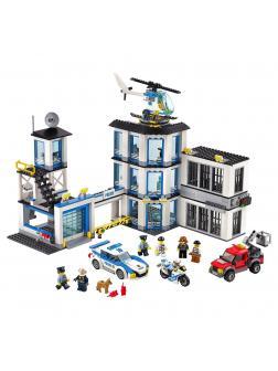 Конструктор Lp «Полицейский участок» 02020 (City 60141) / 965 деталей