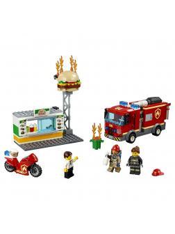 Конструктор Lp «Пожар в бургер-кафе» 02131 (City 60214) / 366 деталей