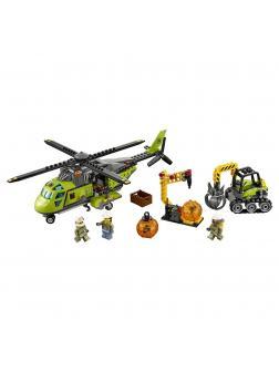 Конструктор Lp «Грузовой вертолёт исследователей вулканов» 02004 (City 60123) 356 деталей