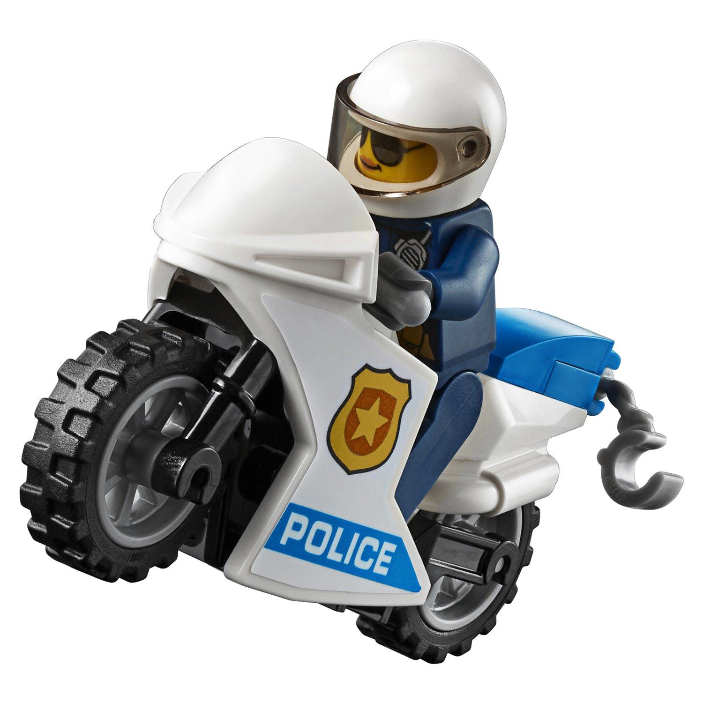 Конструктор Lp «Воздушная полиция - Арест парашютиста» 02127 (City 60208) 245 деталей
