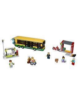 Конструктор Queen «Автобусная остановка» 82053 (City 60154) / 377 деталей