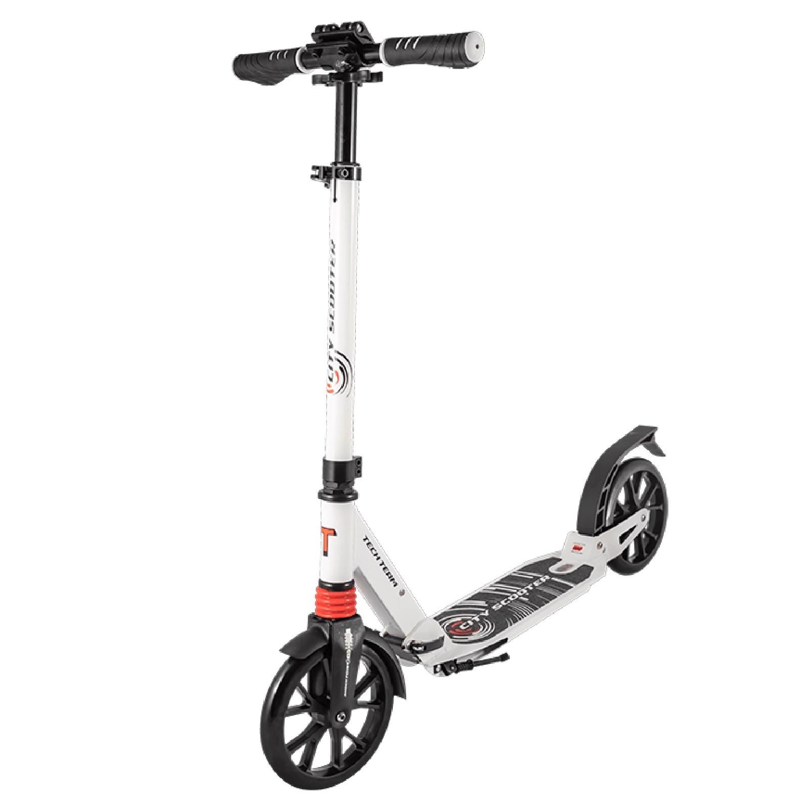 Детский Складной Самокат City Scooter 2020 / Бело-красный