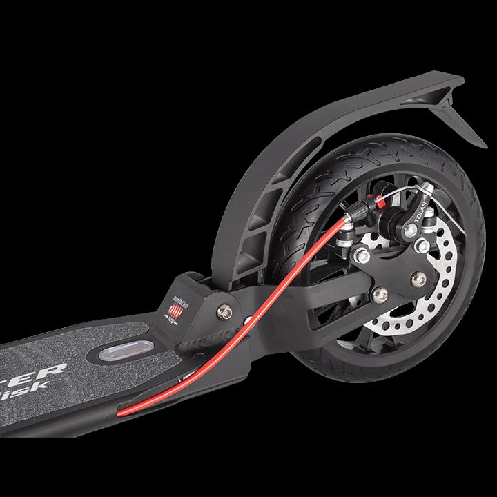 Детский Складной Самокат City Scooter Disk Brake 2020 / Черно-зелёный