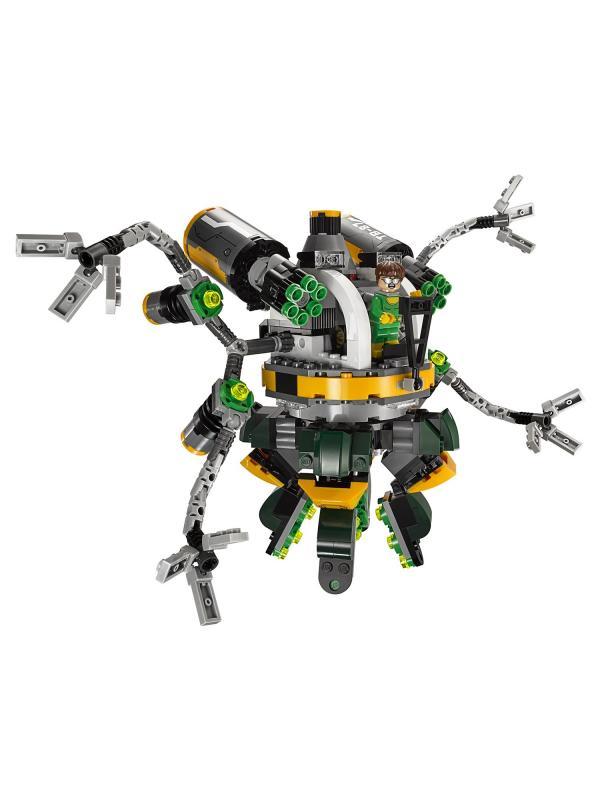 Конструктор Lp Super Heroes «Человек-паук в ловушке Доктора Осьминога» 07040 (Super Heroes 76059) 501 деталь