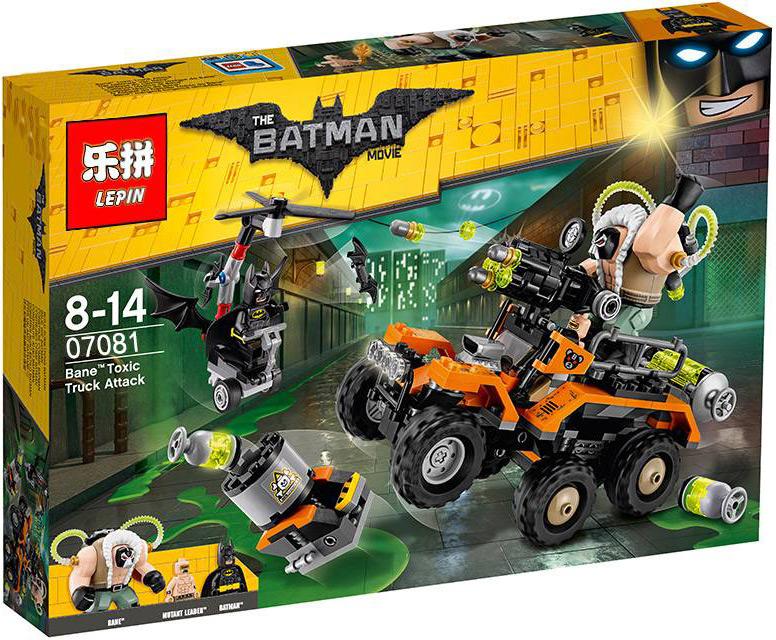 Конструктор Lp «Химическая атака Бэйна» 07081 (Batman Movie 70914) / 396 деталей