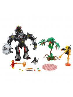 Конструктор Lp «Робот Бэтмена против робота Ядовитого Плюща» 07118 (Super Heroes 76117) / 420 деталей