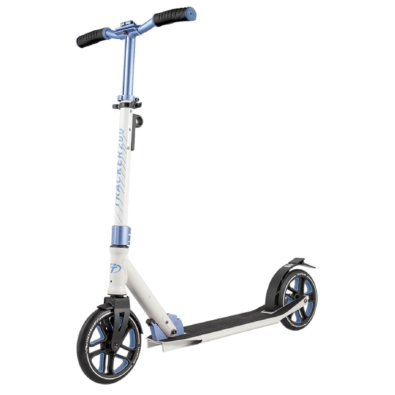 Детский Складной Самокат Tracker 200 2020 / Бело-синий