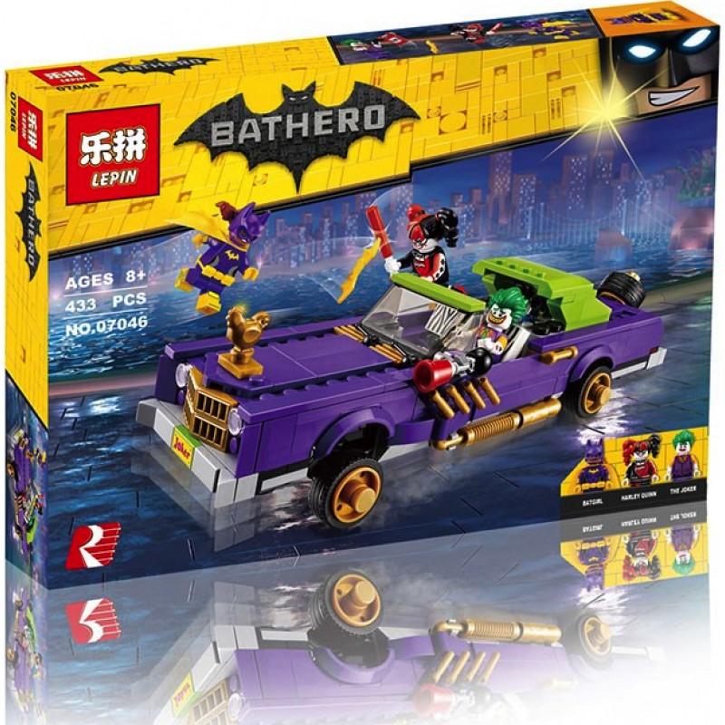 Конструктор Lp Batman «Лоурайдер Джокера» 07046 (Batman Movie 70906) 433 детали
