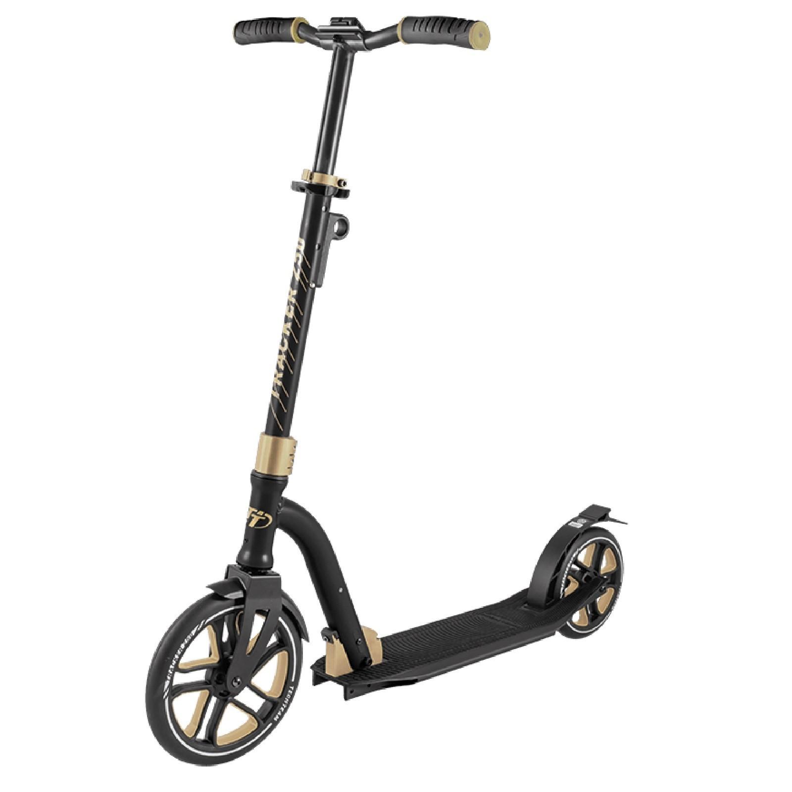 Детский Складной Самокат Tracker 250 2020 / Черно-золотой