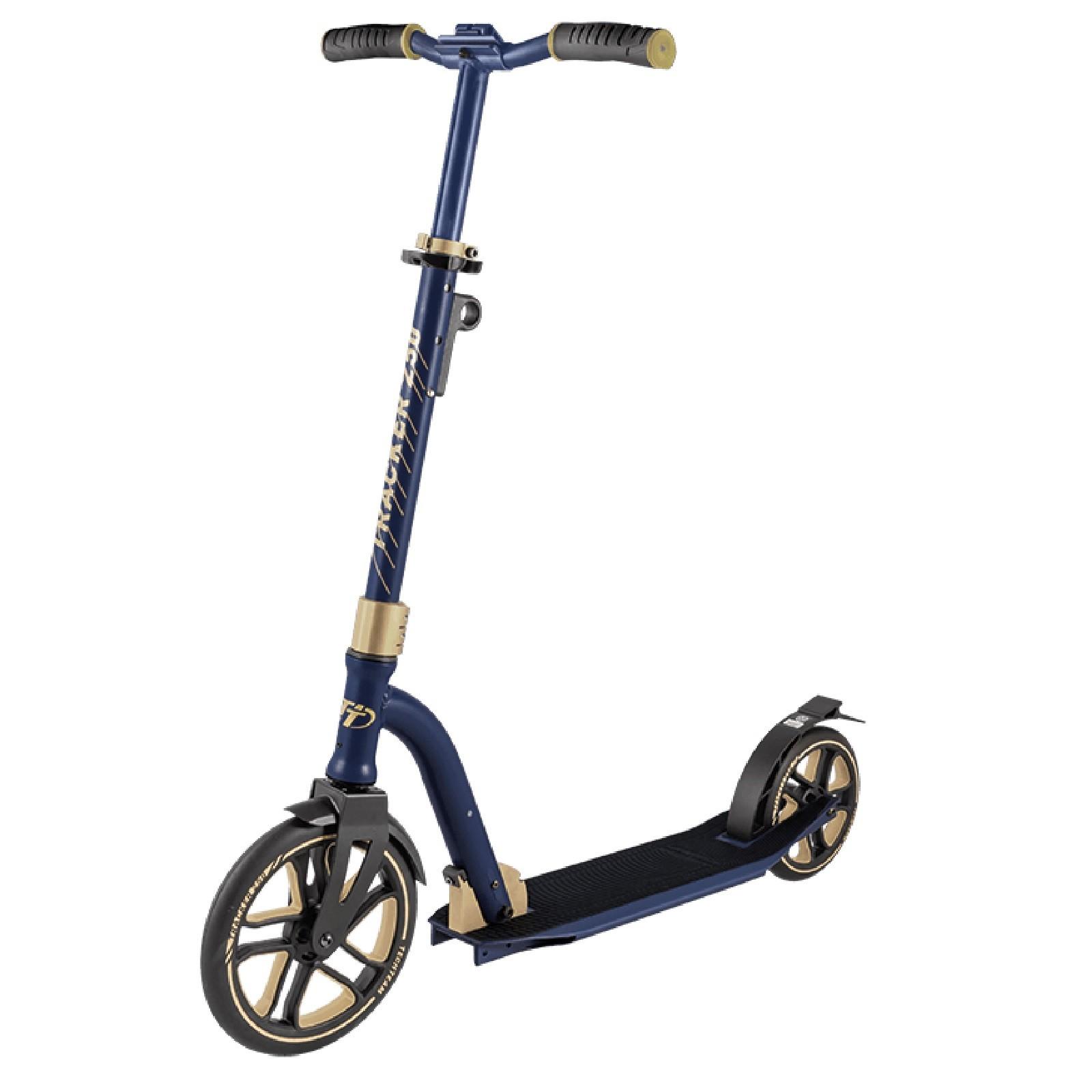 Детский Складной Самокат Tracker 250 2020 / Сине-золотой