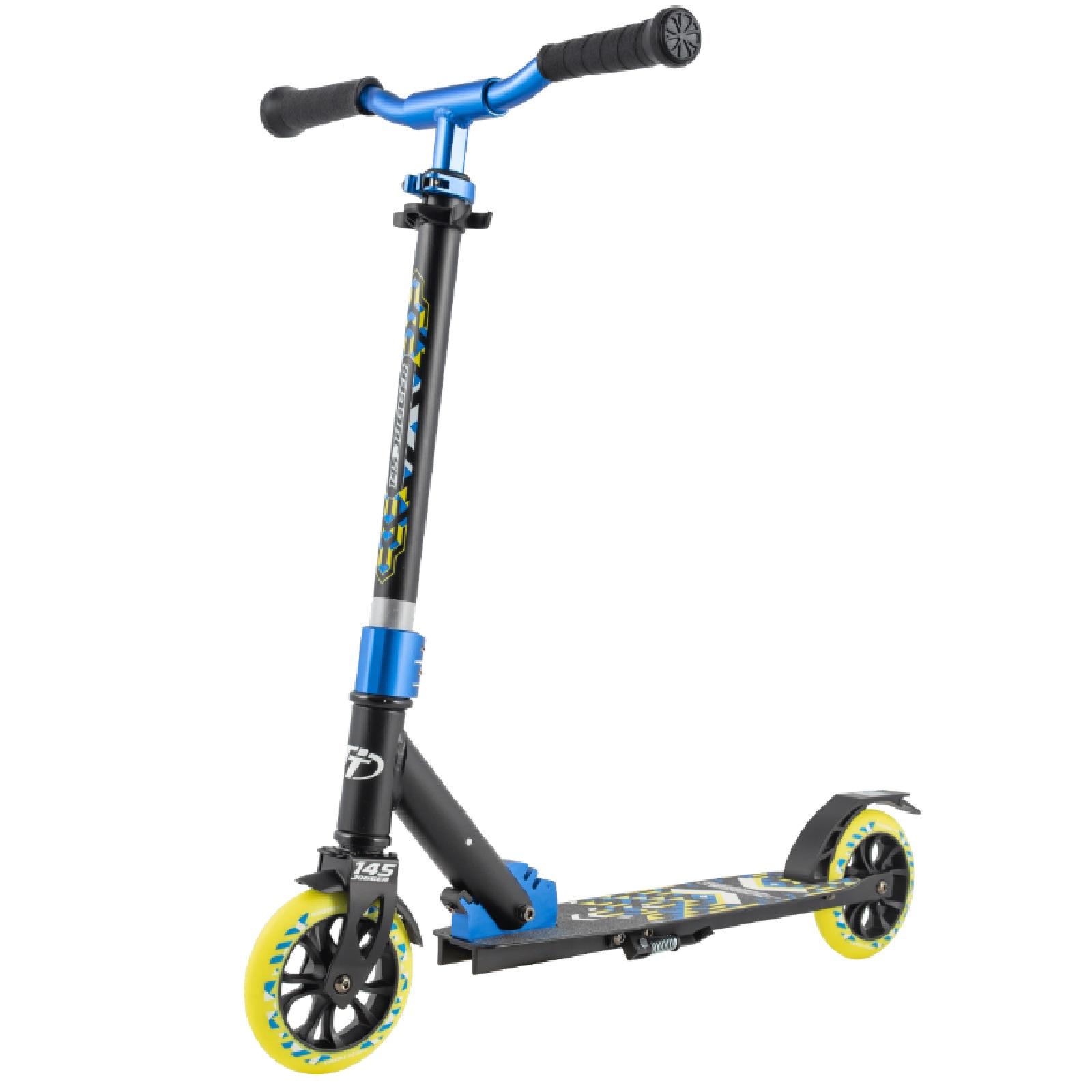 Детский cкладной cамокат TechTeam Jogger 145 2020 / Синий