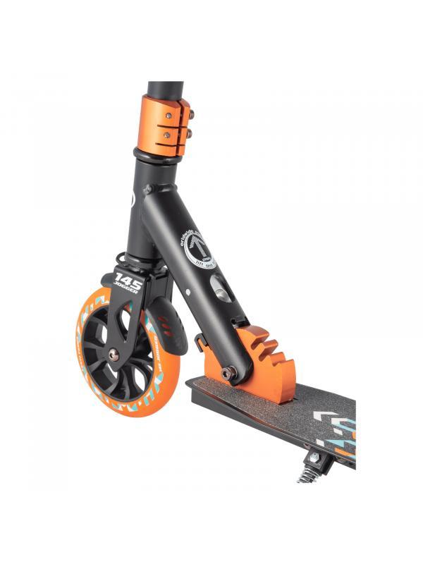 Детский Складной Самокат TechTeam Jogger 145 2020 / Бирюзовый