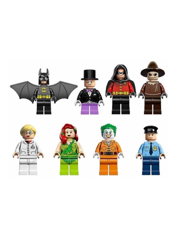 Конструктор Lp Super Heroes «Побег из психиатрической клиники Аркхэм» 07044 (Super Heroes 10937) 1685 деталей