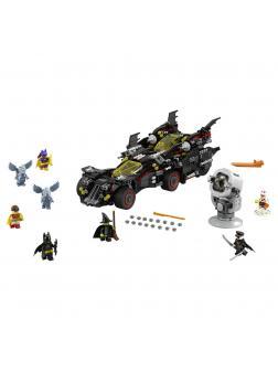Конструктор Lp Batman «Крутой Бэтмобиль» 07077 (Batman Movie 70917) 1469 деталей