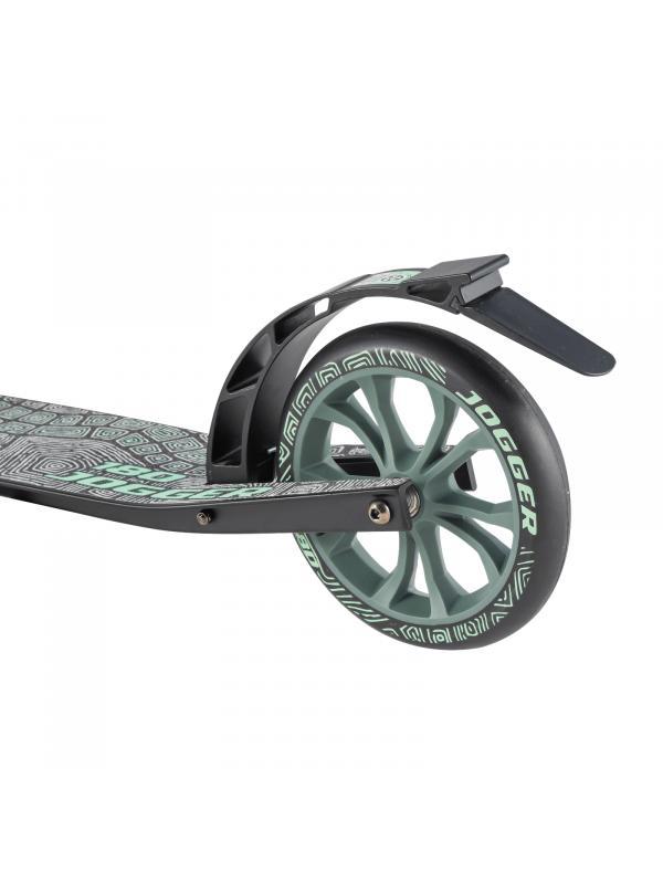 Детский складной самокат TechTeam Jogger 180 2020 / Сине-голубой