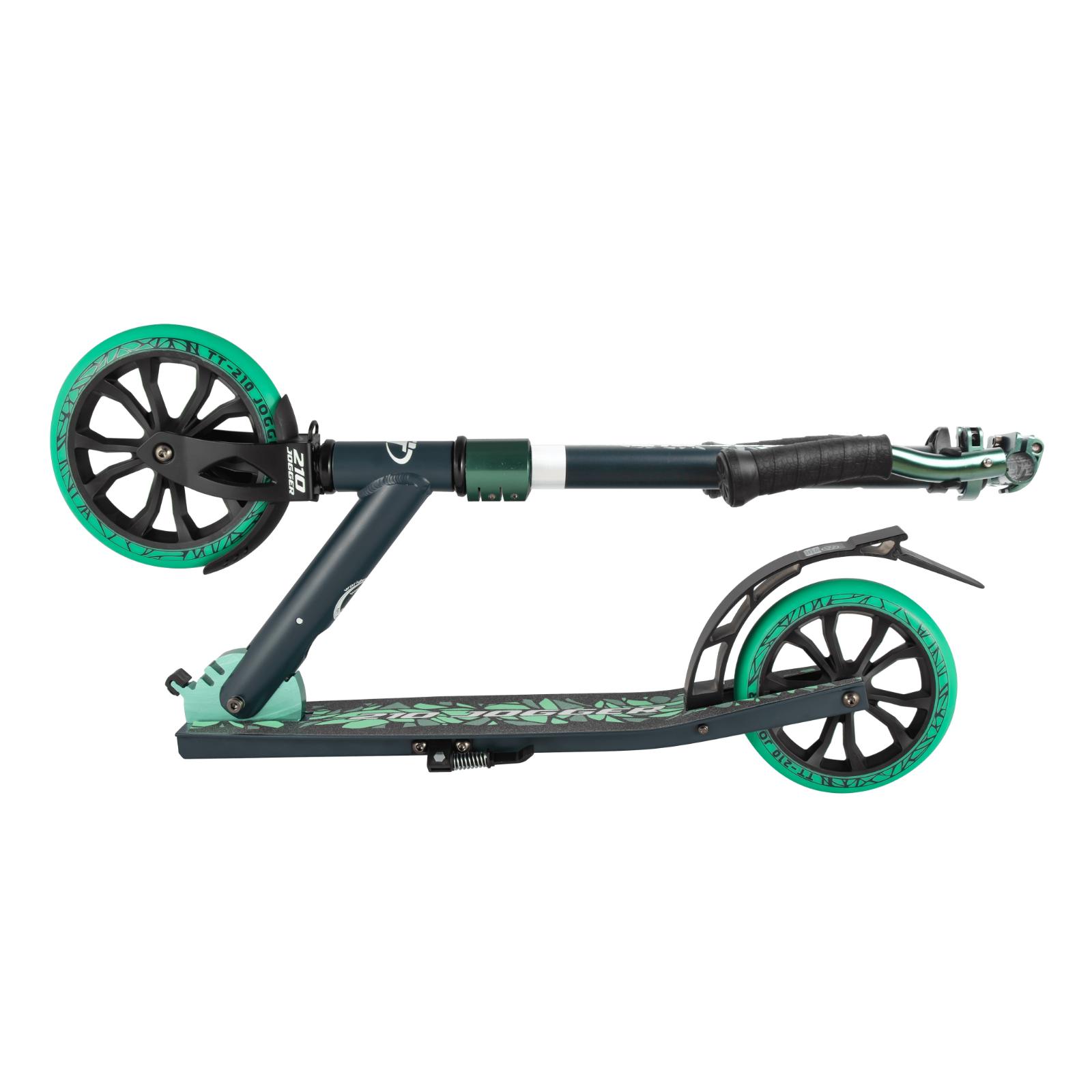 Детский складной самокат TechTeam Jogger 210 2020 / Зеленый