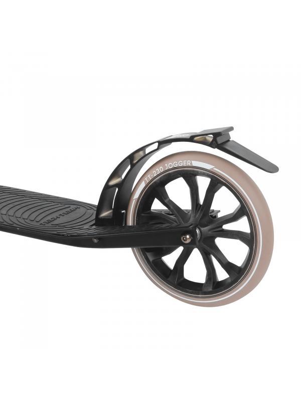 Детский складной самокат TechTeam Jogger 230 2020 / Черно-розовый