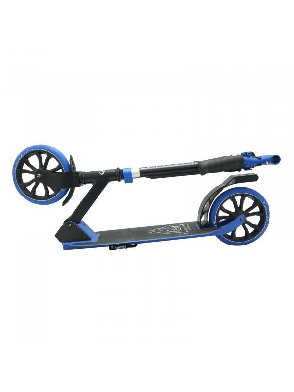 Детский складной самокат Caravel 210 2020 / Черно-синий