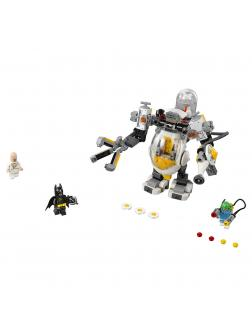 Конструктор Lp «Бой с роботом Яйцеголового» 07096 (Batman Movie 70920) / 328 деталей