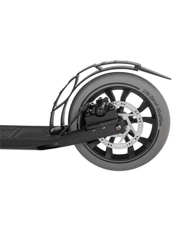 Детский складной самокат TechTeam Sport 270R / Черный