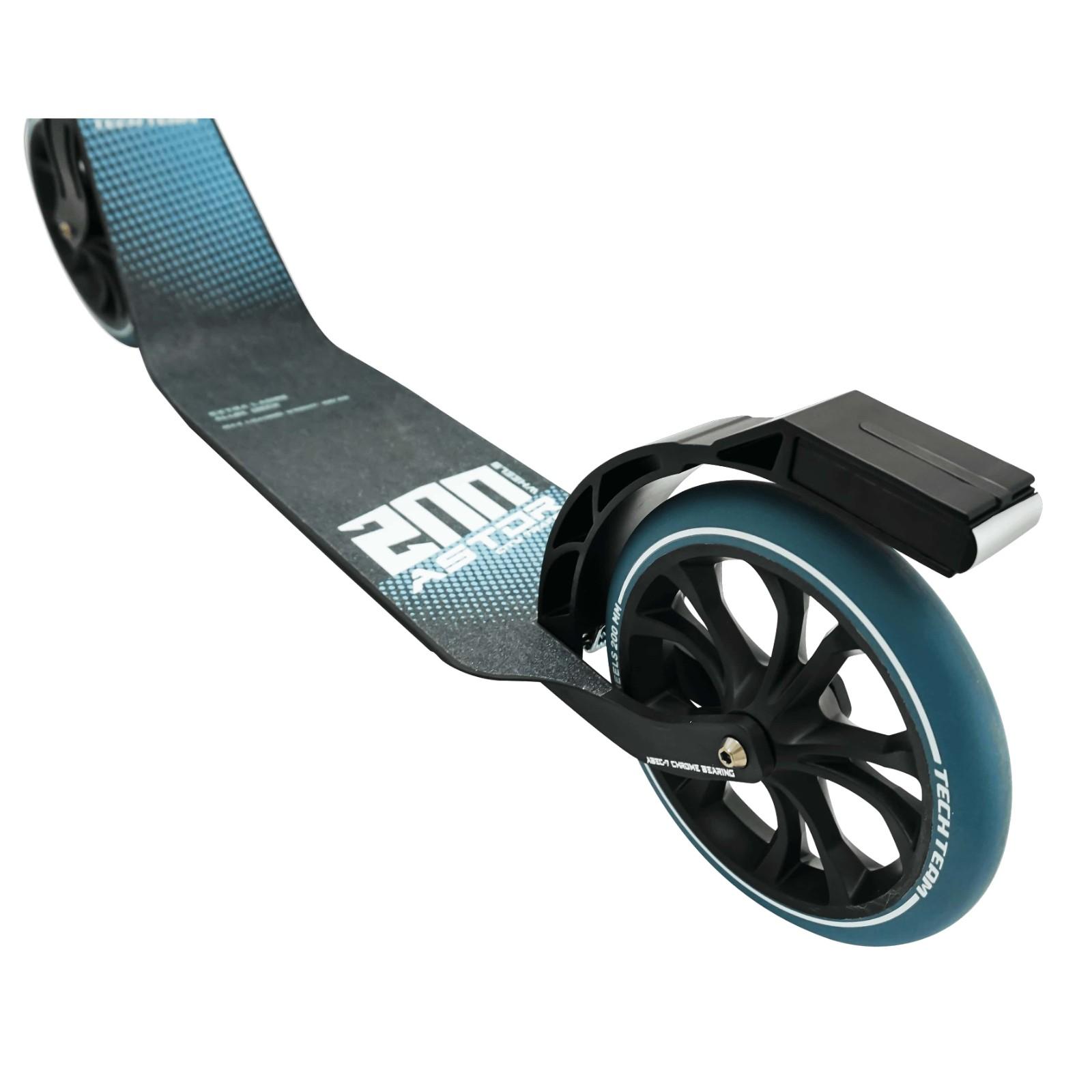 Детский Складной Самокат TechTeam Astor 200 2020 / Черно-синий