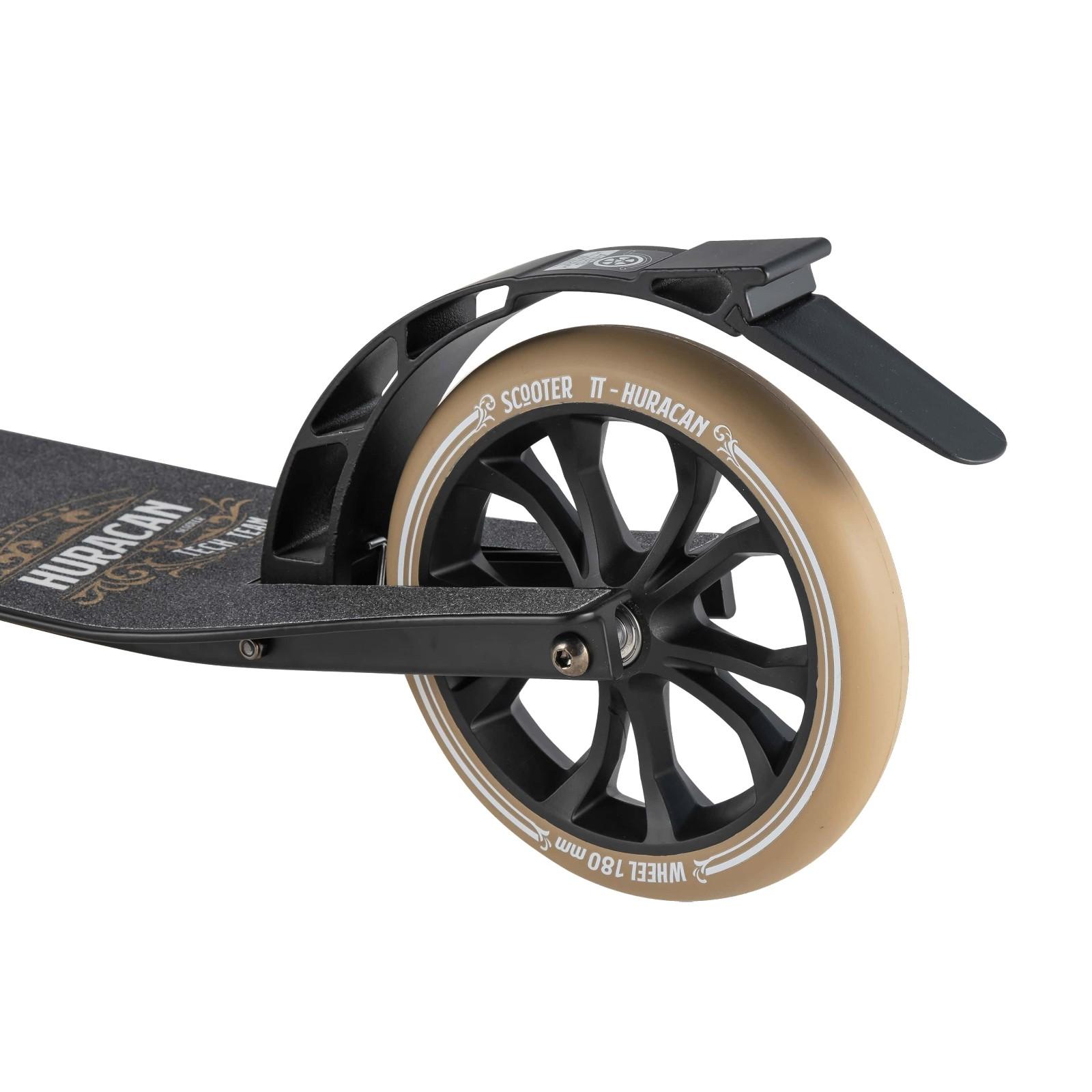 Детский Складной Самокат Huracan 2020 / Черно-коричневый