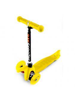 Детский Трехколесный Самокат Mini Flash Желтый