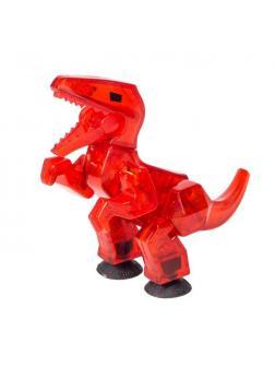 Стикбот Динозавр Велоцираптор Красный
