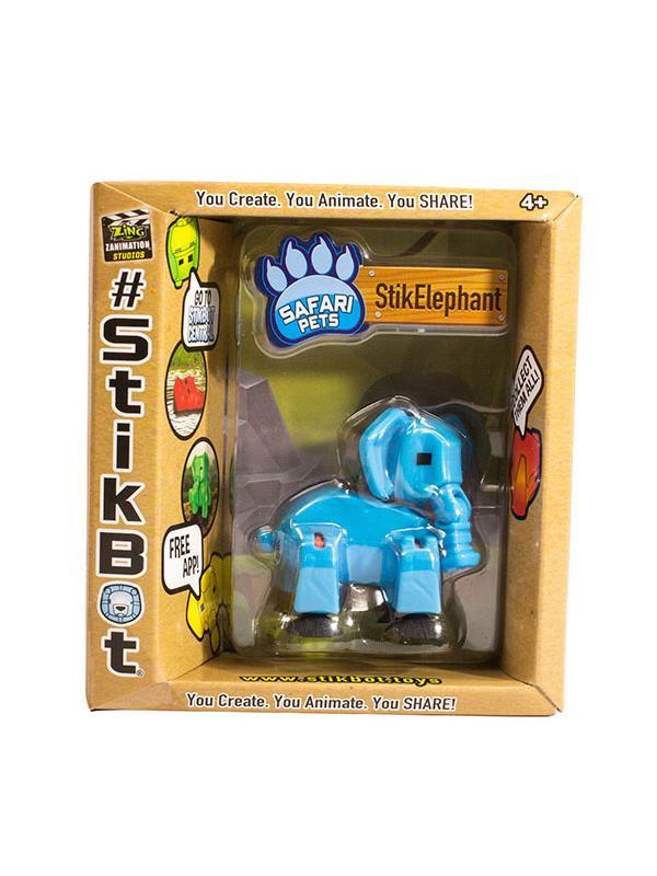 Животное СтикСлон из Сафари Синий