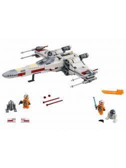 Конструктор King «Звёздный истребитель X-Wing» 81090 (Star Wars 75218) / 819 деталей