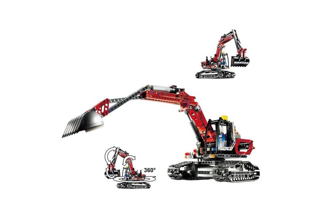 Конструктор King «Экскаватор» 90022 (Technic 8294) 760 деталей