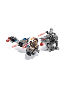 Конструктор Lari «Бой пехотинцев Первого Ордена против спидера на лыжах» 10910 (Star Wars 75195) 228 деталей