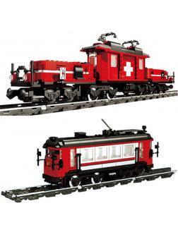 Конструктор Lp Builerds «Поезд Хобби» 21011 (Creator 10183) 1130 деталей