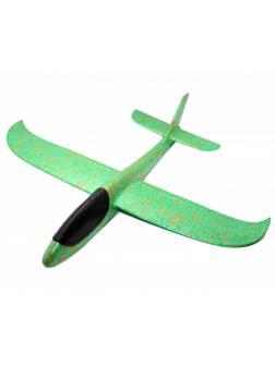Метательный Самолет-Планер 48см. Зеленый