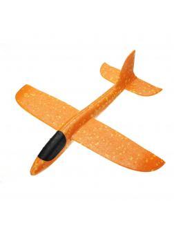 Метательный Самолет-Планер 48см. Оранжевый