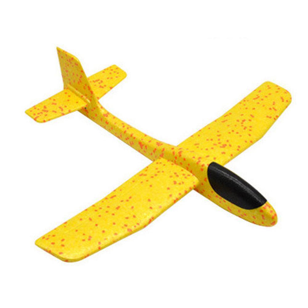 Метательный Самолет-Планер 48см. Желтый