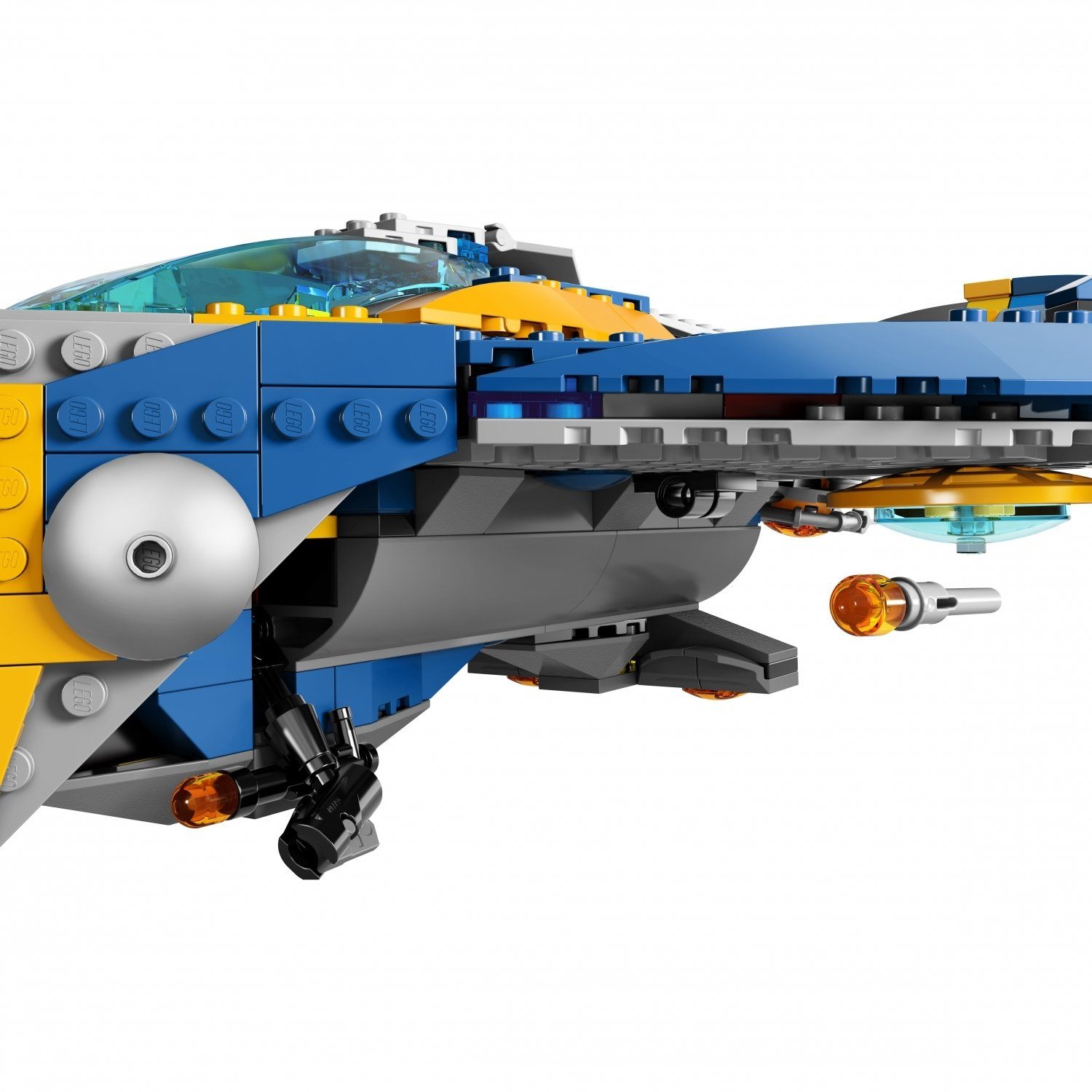 Конструктор Bl «Стражи Галактики: Спасение на космическом корабле» 10251 (Super Heroes 76021) / 665 деталей