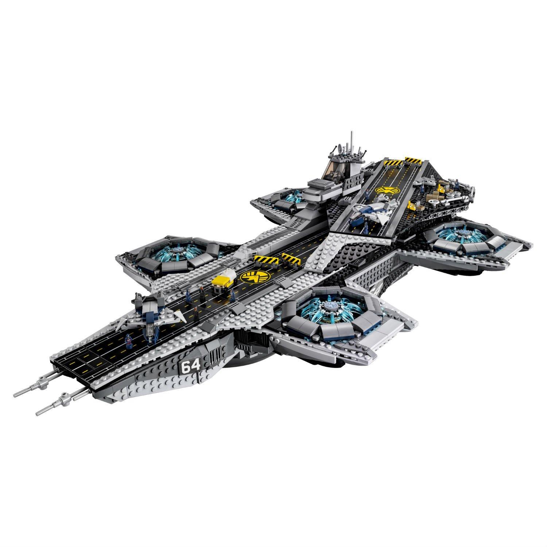 Конструктор Lp «Геликарриер - воздушный перевозчик организации Щ.И.Т.» 07043 (Super Heroes 76042) / 3057 деталей