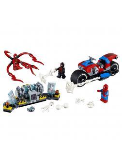 Конструктор Lp «Человек-паук: спасение на байке» 07112 (Super Heroes 76113) 263 детали