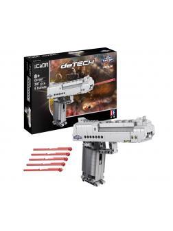 Конструктор Cada «Пистолет Desert Eagle» 307 деталей / C81007W (стреляет)