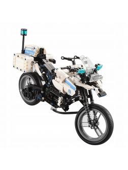 Конструктор Cada «Полицейский мотоцикл» на радиоуправлении 539 деталей / C51023W