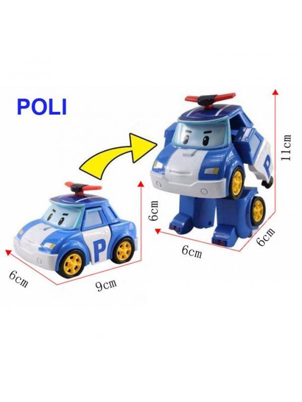 Машинка-трансформер Поли