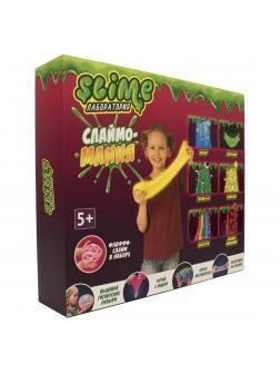 Большой набор для Девочек Slime Лаборатория «Слаймо-Мания» / 300 гр.