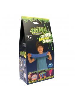 Малый набор для Мальчиков Slime «Лаборатория», Блестящий, Синий / 100 гр.